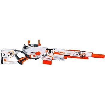 NERF N-STRIKE Limited Edition Whiteout Series Longstrike CS-6 Blaster