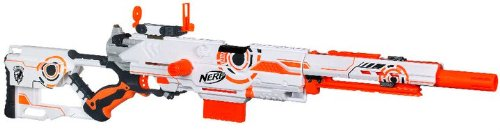 Nerf N Strike Limited Edition Whiteout Series Longstrike Cs 6 Blaster