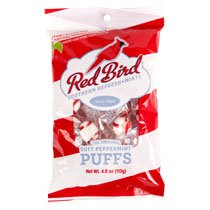 (Pack of 2 Red Bird Southern Refresh- Mints, Soft Peppermint Puffs, 4 oz Each Gluten Free)