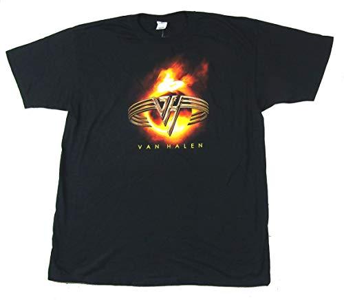Van Halen Fire Globe 2004 Tour Black T Shirt (XL)