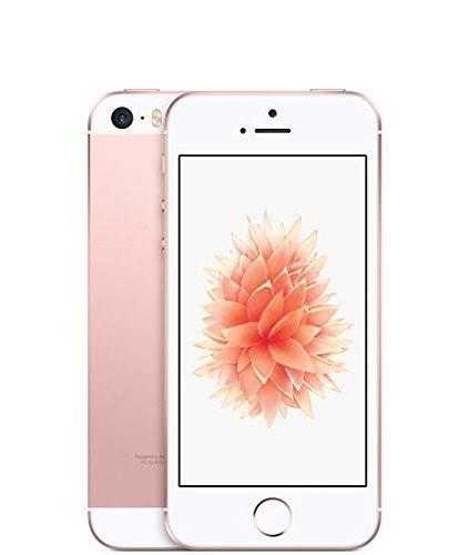 Apple iPhone SE, GSM Unlocked, 16GB - Rose Gold (Renewed)