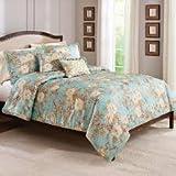 Best Better Homes & Gardens Comforters - 5pc Full/Queen Heirloom Garden Comforter Set Review