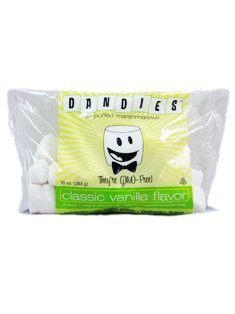 Corn Free Treats (Dandies Vegan Marshmallows, Vanilla, 10 Ounce)