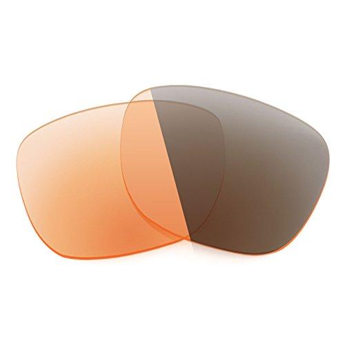 Verres de rechange pour Smith Lowdown — Plusieurs options Elite Adapt Orange photochromique