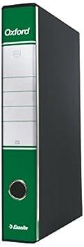 Esselte Raccoglitore Oxford con meccanismo a leva e con custodia, Formato Commerciale, Cartone, Dorso 8 cm, Fucsia, 390783900 474032