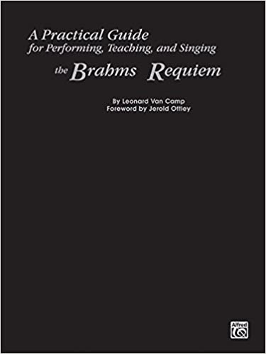 ;;REPACK;; A Practical Guide For Performing, Teaching, And Singing The Brahms Requiem. SureLab Thanks Python Agencias making Press connect offers