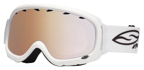 Smith Optics Gambler Goggle (White Frame, RC36 Lens), Outdoor Stuffs