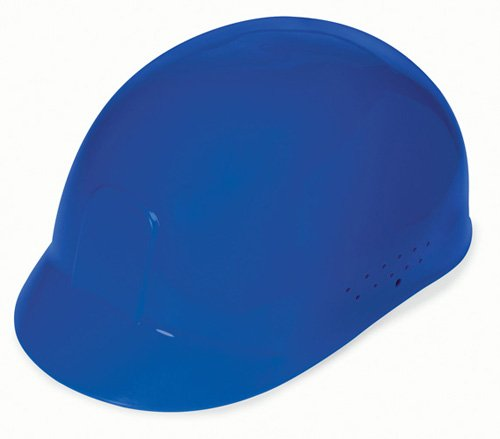 - Liberty DuraShell HDPE Bump Cap with 4 Point Pinlock Suspension, Blue (Case of 6)
