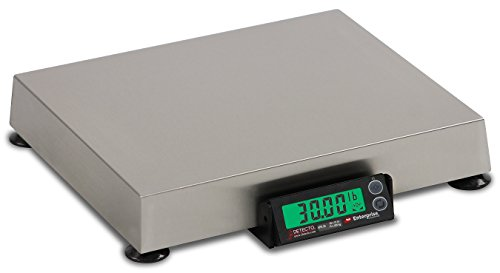 "Detecto APS30 Enterprise POS/Logistics Scale, Electronic, 12"" x 14"", 30 lb. x .01 lb."