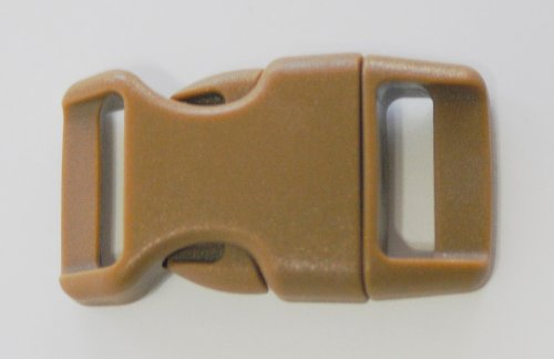 "5/8"" Contoured Side Release Buckles for Paracord Bracelets Multiple Color and Quantity"