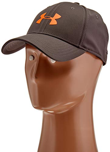 (Under Armour Men's Storm Headline Cap, Charcoal (019)/Magma Orange, Medium/Large)