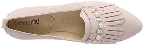 Caprice 24202 Damen Pantoffel Rot (rose Nubuc 509)