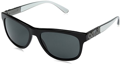 Burberry  Men's 0BE4234 Black/Gray - Burberry Case Glasses