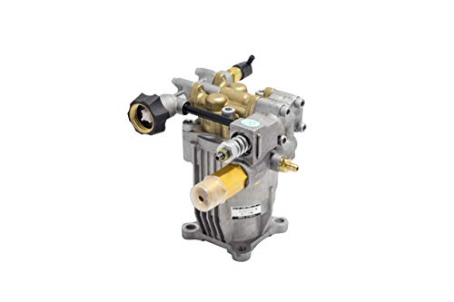 "New - Premium - Cold Water - Gasoline - Pressure Washer - Power Washer - Replacement - Axial Horizontal Pump 3/4"" Shaft 2600-3200 PSI- 2.3-2.5 GPM Aluminum Head (3000-3200 PSI 2.5 GM)"