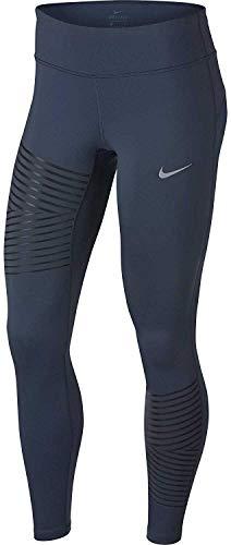 Nike Women's Power Epic Run Flash Running Tights (Thunder Blue, XL) ()