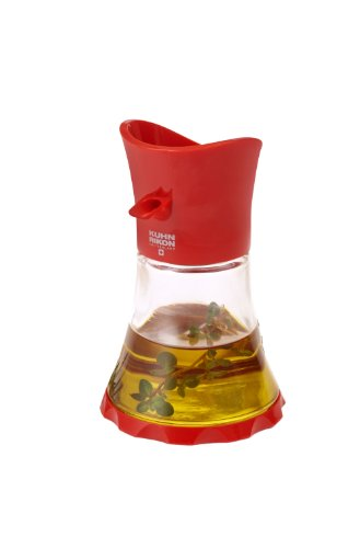 Kuhn Rikon Vase Oil/Vinegar Cruet, Red (Rikon Kuhn Cruet)
