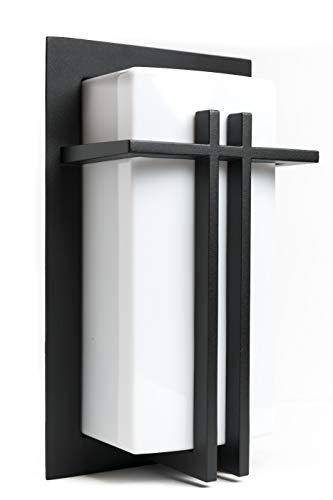 LJ OutDoor Light Wall Sconce 4216 Aluminum Matt-black Paint Modern Design Outdoor 12