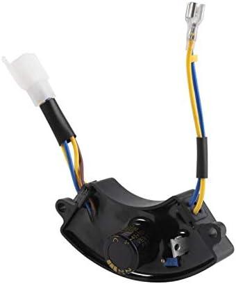 220mu;F 250 V spanningsregelaar elektrische start Avr boogvormig zwart voor benzine Elektrische generatorregeling De output van benzinegenerator