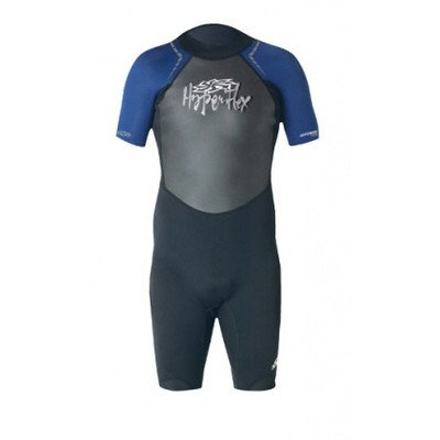 Hyperflex Wetsuits Men's Access 2.5mm Spring Suit, Black/Silver, Medium - Surfing, Windsurfing & Wakeboarding