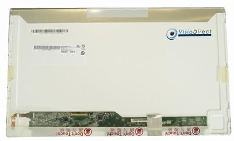 "Pantalla 15.6"" LED WSVGA 1366x768 para ordenador portátil eMachines E730G Serie - Visiodirect -"