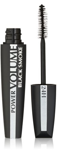 L'Oreal Paris Voluminous Power Volume 24H Mascara, 697 Black Smoke, 0.33 Fluid Ounce