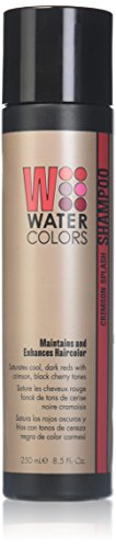Watercolors Crimson Splash Shampoo Maintains and Enhances Haircolor Duo Set 8.5 fl. oz. NEW PACKAGING! by Tressa