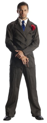 Rubie's Costume 20s Mob Boss, Black, X-large Costume (Sexy Costumes For Guys)