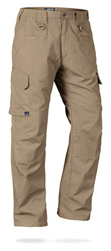 - LA Police Gear Men's Water Resistant Operator Tactical Pant with Elastic Waistband Boulder-38 X 30