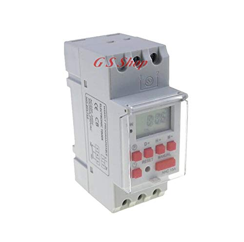 (thc15a AHC15A 220V 30A Din rail timer relay time switches weekly programmble electronic TIME SWITCH bell ring device)