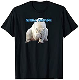 Polar Bear Global Warming T-shirt