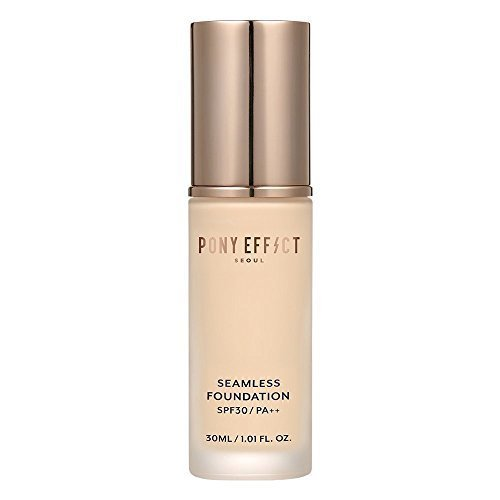Pony Effect Seamless Foundation 30ml SPF 30 / PA++ (No.21 Natural Ivory) -