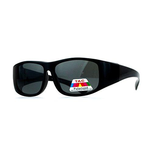 Kids Polarized Lens Fitover Sunglasses Rectangular OTG for Boys and Girls