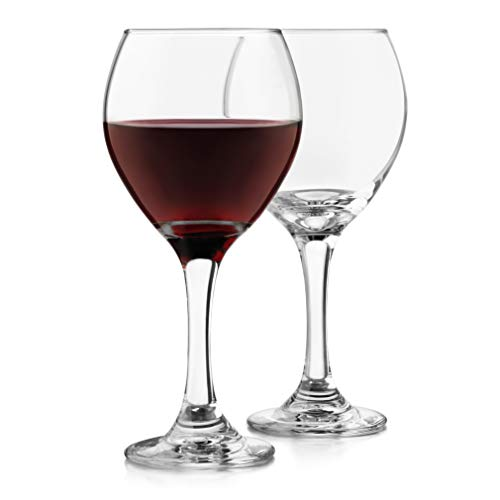 Libbey Classic Red Wine Glasses, Set of 4