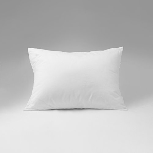 Continental Bedding 100% Premium White Goose Down luxury Pillow, 550 Fill Power. (Standard)