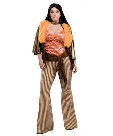 60's Babe Adult Costume - Plus Size - Sonny Cher Costumes