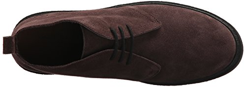 Fred Perry Mens Hawley Mid Suede Pure Chocolate