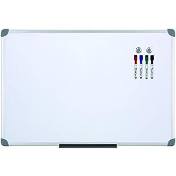 Quartet Euro Frame Magnetic Dry-Erase Board, 2 x 3 Feet, Aluminum (ukte2436-W)