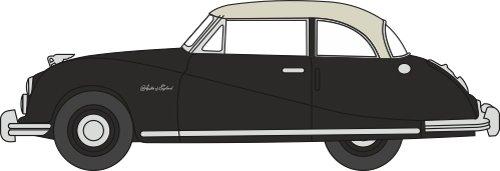 Atlantic Oxfords (Oxford 1:76 Scale Austin Atlantic Saloon Black/Grey)