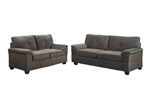 poundex-bobkona-fullerton-waffle-suede-2-piece-sofa-and-loveseat-set-charcoal