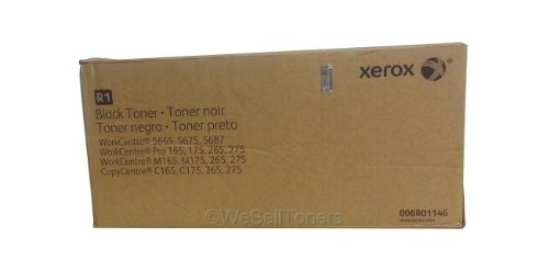 Xerox 6R01146 Toner Cartridge (Black,2-Pack)