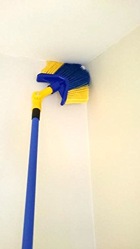 Cobweb Brush Feather Duster Long Reach Extending Handle Angled Head The Dustpan and Brush Store