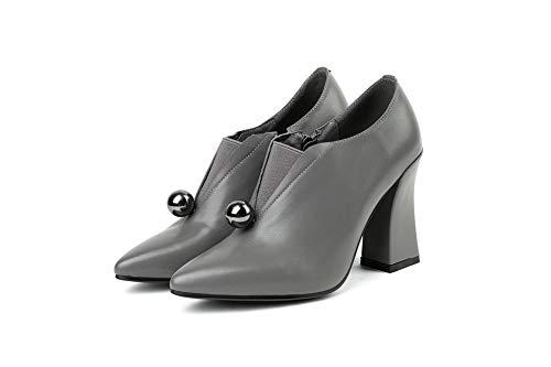 Compensées 36 Gris SDC06049 Sandales 5 Femme EU Gris AdeeSu wEaOYqq