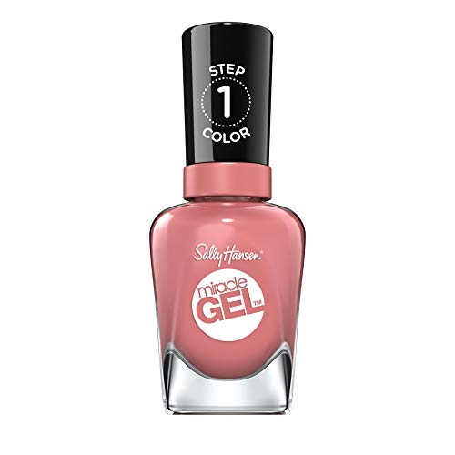 Sally Hansen Miracle Gel Nail Polish, Mauve-Olous, Pack of 1