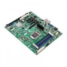 S1200BTLR Server Motherboard - Intel C204 Chipset - Socket H2 LGA-1155 - 5 x Retail Pack