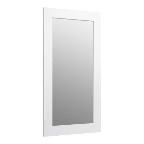 - KOHLER K-99666-1WA Poplin 35.5-Inch x 20.5-Inch Rectangular Framed Mirror,  Linen White