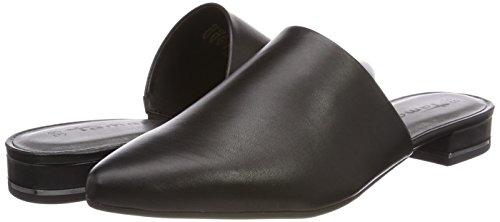 27304 Tamaris Mules Femme Leather black Noir drFCrfMq