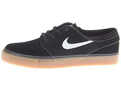 new style 7cb48 c2bdd ... wholesale amazon nike stefan janoski skate shoe boys black gum light  brown white 4.0 shoes e7af9