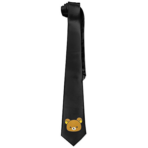 [Ggift Relax Cute Bear Men's Fashion Business Solid Necktie Ties] (Matt Barkley Costume)