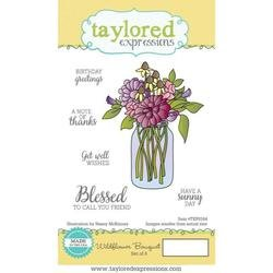 Taylored Expressions Stamps ~ Wildflower Bouquet