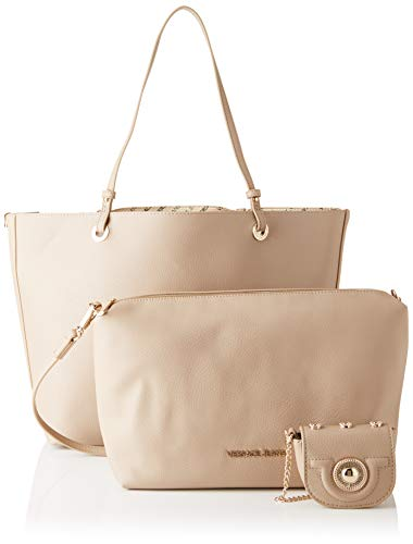 Versace Mujer legno Beige Bag Bolso De Hombro rr4Z1